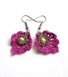 knottherapy rev crochet earrings