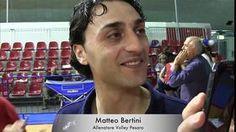 VOLLEY PESARO intervista MATTEO BERTINI dopo GARA UNO PLAYOFF 2015