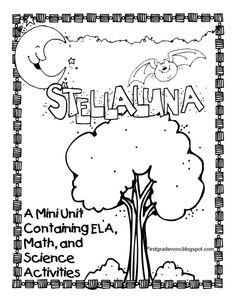 First Grade Wow.  FREE Stellaluna #pet girl #Cute pet| http://pet-boy-838.blogspot.com