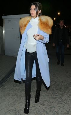 kendall jenner clothing line fur coat - Google Search