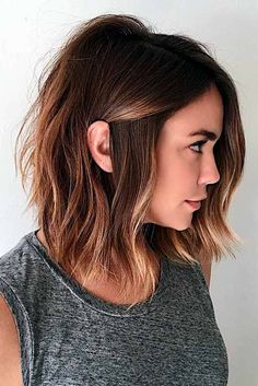 9 Bob Frisur f    r Dicke Haare   Hairstyles   Pinterest   Bobs     25 Chic and Trendy Styles for Modern Bob Haircuts for Fine Hair