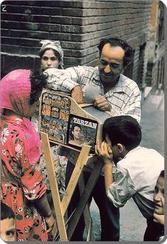 Sokak sinemacısı - 1959 (W. Istanbul, Turkish Fashion, Tarzan, Historical Pictures, Biro, Baghdad, Old Photos, Old Things, Black And White