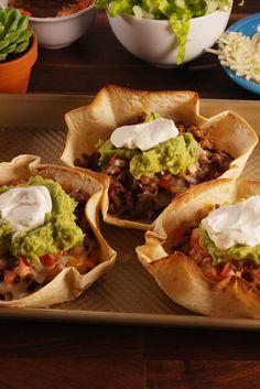 Beef Taco Boats