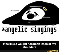 I feel like a weight has been liften of my shoulders