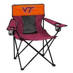 Virginia Tech VT Hokies Chair Elite Adult Tailgating Seat