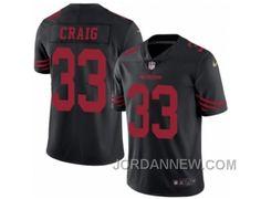 http://www.jordannew.com/mens-nike-san-francisco-49ers-33-roger-craig-elite-black-rush-nfl-jersey-online.html MEN'S NIKE SAN FRANCISCO 49ERS #33 ROGER CRAIG ELITE BLACK RUSH NFL JERSEY FREE SHIPPING Only $23.00 , Free Shipping!