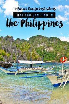 You don't have to leave the country! Here are 10 great and famous destinations abroad that you can actually find WITHIN the Philippines! | via http://iAmAileen.com/10-destinations-abroad-you-can-find-in-the-philippines/ #travel #Philippines #travelph2015