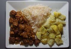 Sojové maso Tempeh, Tofu, Vegan V, Cereal, Grains, Meat, Chicken, Cooking, Breakfast