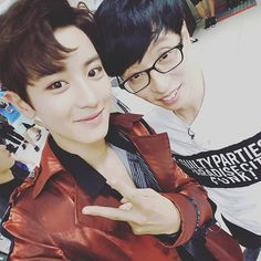 Chanyeol x You Jae Seok Jae Seok, Yoo Jae Suk, Park Chanyeol, Baekhyun, Moorim School, Boys Republic, Kim Woo Bin, Exo Members, Chinese Boy