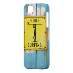 Gone Surfing (5) #iphone_case, distressed blue