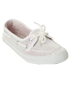 Sequin Boat Shoe - Flats