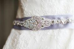 DIY wedding belt/sash