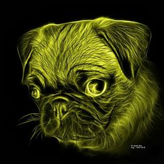 Beautiful pug art by artist James Ahn. Pug - 9567 FS B   All rights reserved.   © Rateitart.com // All Rights Reserved.  All Artwork, Photography, and Designs are copyrighted.  Do not use my works for commercial purposes.  Do not use my works to create derivative works.   Thank You.   #Pug #Yellow #Dog #DogArt #Animal #Animals #AnimalLover #Cute #Cuteness #CutenessOverload #CuteAnimals #AnimalArt #PopArt #Pets #Wildlife #Art #Artwork #Artist #Arte #petstagram #JamesAhn #Rateitart