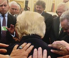 How fascinating! Evangelicals worship the Anti-Christ!