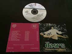 Crawling King Snakes - Europe 1988 - Back Trax CD 04-88004