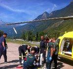 Rescatado un montañero en estado muy grave en Ansó | Noticias de Huesca provincia en Heraldo.es