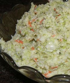 Recipe for KFC Coleslaw Copy Cat - Whether you're a fan of KFC Fried Chicken or not, you have to admit his secret coleslaw recipe is one of the best out there.