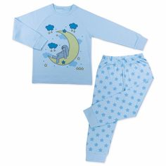 Made from skin-friendly organic cotton Comfortable clothing, no irritating tags or seams Also available in pink colour For babies in sizes: months / months / months / months / months / months / Made in Turkey… Boys Pajamas, Pyjamas, Toddler Boy Outfits, Toddler Boys, Star Print, Comfortable Outfits, Pink Color, Organic Cotton, Crop Tops