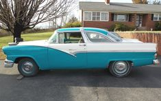 One Cool Roof: 1956 Ford Crown Victoria - http://barnfinds.com/one-cool-roof-1956-ford-crown-victoria/