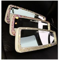 Bling Car Accessories, Car Accessories For Women, Vehicle Accessories, Mustang Accessories, Truck Interior Accessories, Pretty Cars, Cute Cars, Fancy Cars, Bling Bling