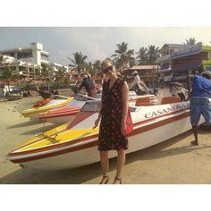 Me and my Casanova  kat  #boats #motorboat #casanova #india #harbour #kerala #port