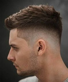 Top 36 Trending and Most Stylish Faux Hawk Haircuts of 2019 - Herrenfrisuren , High And Tight Haircut, Low Fade Haircut, Mens Fade Haircut, Mens Haircut Styles, Disconnected Haircut, Side Haircut, Mens Hairstyles Fade, Cool Hairstyles For Men, Guys Haircuts Fade