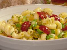 Spring Pasta Salad from FoodNetwork.com