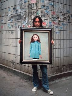 Fake portraits, Michael Wolf