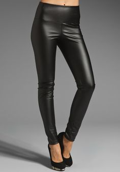 PAPER CROWN Serena Legging in Black - $158