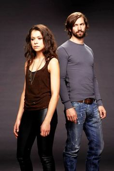 Orphan Black Promotional Photography: Tatiana Maslany and Michael Huisman