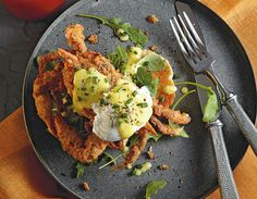 Fried Soft-Shell Crabs Benedict Recipe