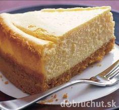 Tvarohový koláč s citrónovou arómou