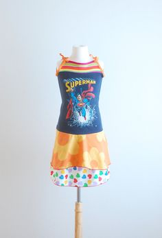 Upcycle Clothing Sewing | Upcycled Clothing Upcycled Dress Kids Clothes Recycled Clothing Girls ...