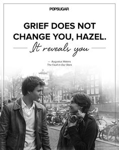 The Most Beautiful Quotes From The Fault in Our Stars-- this was a great movie !!! Loved Hazel ....