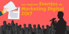 Calendario de todos los eventos de Marketing Digital 2017 en España.  #calendario #socialmedia #facebook #redessociales #communitymanager #marketing #marketingdigital #sm #enredia