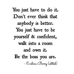 Be The Boss You Are
