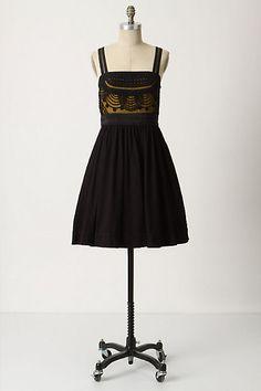 Cloaked Vista Dress  #anthropologie Floreat 168