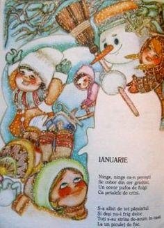 Laurentiu Sarbu illustrations for Cartea cu anotimpuri Winter Illustration, Fairy Tales, Photo And Video, Romania, Children, Illustrations, Kids, Illustration, Illustrators
