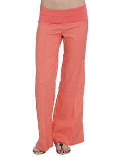 Arden B. Knit Foldover Linen Pant   http://www.ardenb.com/catalog/product.jsp?categoryId=1646=66156
