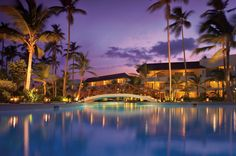 All Inclusive Secrets Royal Beach Punta Cana Hotel / Resort Night View Punta Cana Vacations, Punta Cana All Inclusive, Punta Cana Hotels, Punta Cana Beach, Dream Vacations, Inclusive Resorts, Honeymoon Spots, Vacation Spots, Honeymoon Destinations