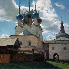 Vladimir Nikolaevich Kirillov (B. 1980, Russia) - oil/canvas, 2012