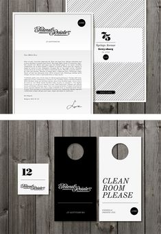 Federal Pointe Inn Identity by Miklós Kiss | Inspiration Grid | Design Inspiration