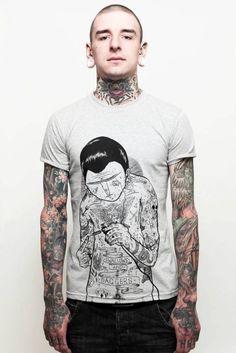 Mod Boys: 50 Homens tatuados