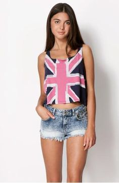 British flag in hipster look by Bershka FW13