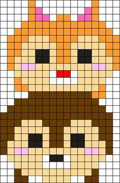 ChipDale Tsum 1 Perler Bead Pattern / Bead Sprite