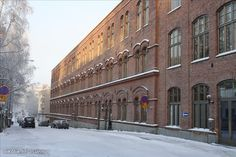 Tampere. This is Klingendahl old factory building, now office spaces.