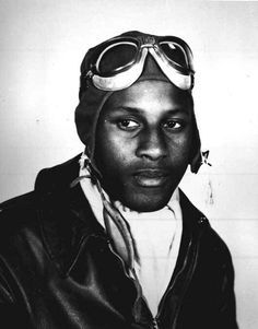 In 1943, Charles B. Hall became the first black fighter pilot to down an enemy aircraft. Hall was awarded the Distinguished Flying Cross for his valor in this World War II action. His squadron presented him with its own reward, a chilled bottle of Coke, a precious commodity in the Mediterranean theater. Hall was a member of the 99th Fighter Squadron.
