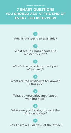 7 smart questions you should ask at the end of every job interview - Interview Checklist For Employer Interview Checklist And Guide For Employers