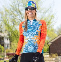 Women's YMX Long Sleeve Cycling Jersey | Terry Bicycles