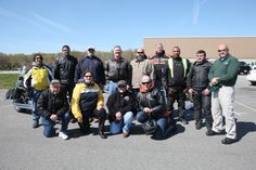 Riders of all abilities, came to refresh their skills